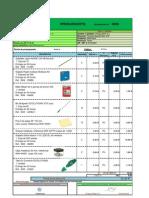Presupuesto Material de Oficina