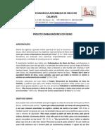 APRESENTAÇÃO- PROJETO EMBAIXADORES DO REINO Doc