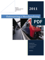Outsourcing y Merchandising