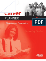 Career Planner Choosing an Occupation Planning Series