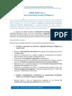 Informe ONAR 2011