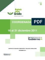 Migrantes | Coordenadas | 16 al 31 diciembre 2011