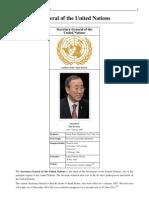 UN Secretary Generals