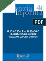 Guida Fiscale Al Passaggio Generazionale Dei Beni