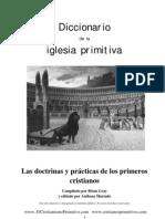 Dicciónario de la Iglesia primitiva