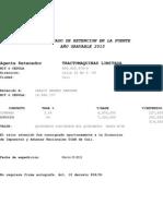 Formato Certificado Retencion en La Fuente Retefuente