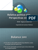 Balance Político 2011 (fBDM)