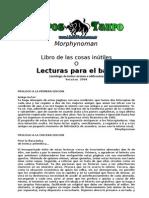Morphynoman - Lecturas Para El Ba%F1o