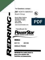 AE115 Powerstar Manual