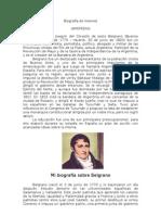 Biografia de Belgrano