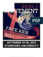 Program - FACE AIDS Fall Conference 2011