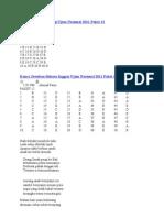 Kunci Jawaban Biologi Ujian Nasional 2011 Paket 12