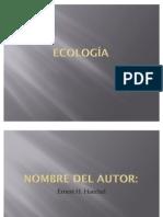 La Ecologia