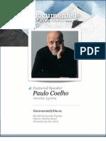 Paulo Coelho Documented@Davos Transcript
