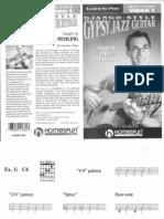 Django Style Gypsy Jazz Guitar - Lesson 1 (Rhythm)