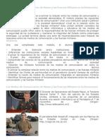 Los Medios de Comunicación de Masas y las Fuerzas Militares en la Democracia