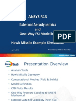 ANSYS R13 Missile FSI Example