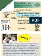 DERECHO DEL NIÑO Y ADOLESCENTE