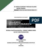 , Revitalizing the World Economy Through Farz Methodology