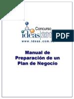 Manual Elaboracion Plan de Negocio 2011