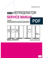 Service Manuals LG Fridge