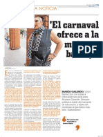 """""""El carnaval ofrece a la mujer en bandeja"""""""