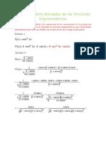 ejercicios resueltos trigonometria