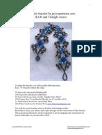 Frost Fire Bracelet Pattern