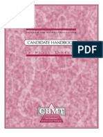 CBMT Handbook