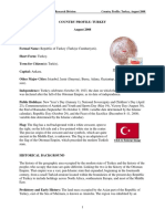 Turkey Country Profile