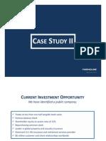 Case Study II AIG