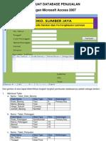 Membuat Database Penjualan3