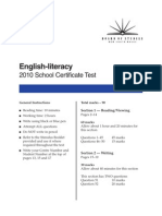 2010 SCT English