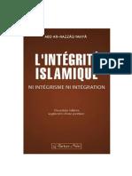 L'intégrité islamique seconde édition