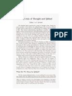 The Crisis of Thought and Ijtihad - Taha Jabir Alwani