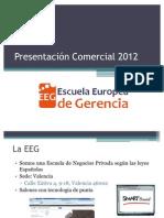 PresentacionComercialEEG-Enero2012