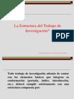 La_Estructura_del_Trabajo_de_Investigaci¾n