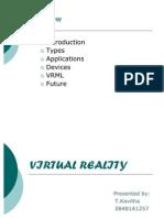 Vitual Reality