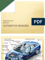 Gergo Szakmany Automotive Sensors