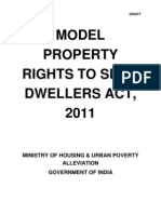 Mhupa Model Property Rights to Slum Dwellers Act 2011-24!5!11