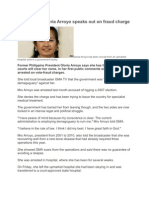 All about Ex-President Arroyo Article