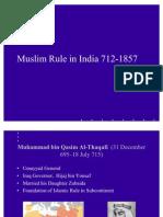 Muslim Rule in India 712-1857