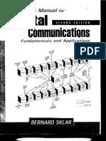 Solution Manual Digital Communications Fundamentals Bernard Sklar