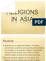 Religions in Asian