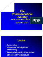 Pharmaceutical Industry Ethics