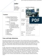 Land Rover Defender - Wikipedia, The Free Encyclopedia