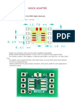 SOIC8 adapter for prototypes