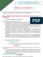 Fiche 3 - Inégalités, croissance, développement 2011-2012