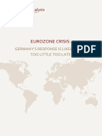Germany and the Eurozone