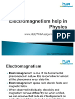 Electromagnetism in Physics